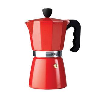 Percolator 6 espresso rood